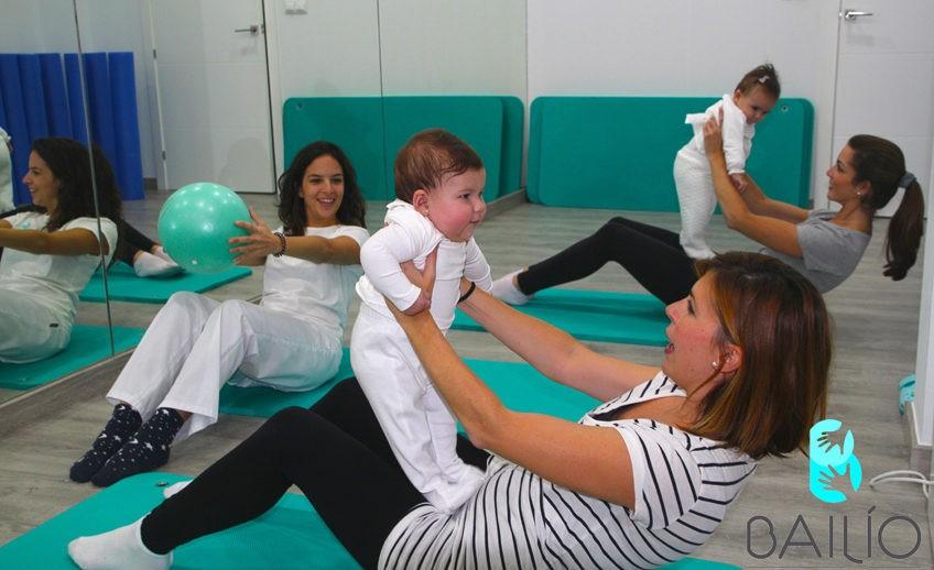 pilates con bebé