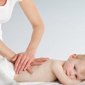 sesión fisioterapia pediátrica